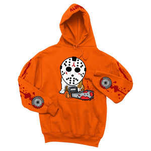 JASON 5K CHAINSAW HOODIE (ORANGE)