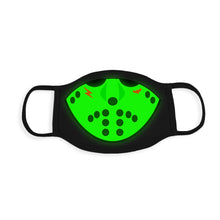 Load image into Gallery viewer, JASON FLU MASK (GLOW IN THE DARK)