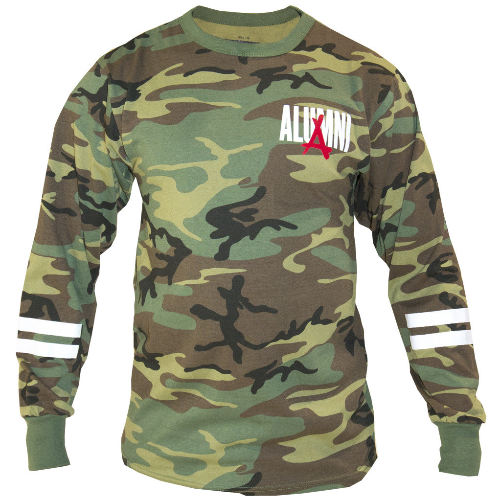 CAMO ACTIVE LONG SLEEVE TEE