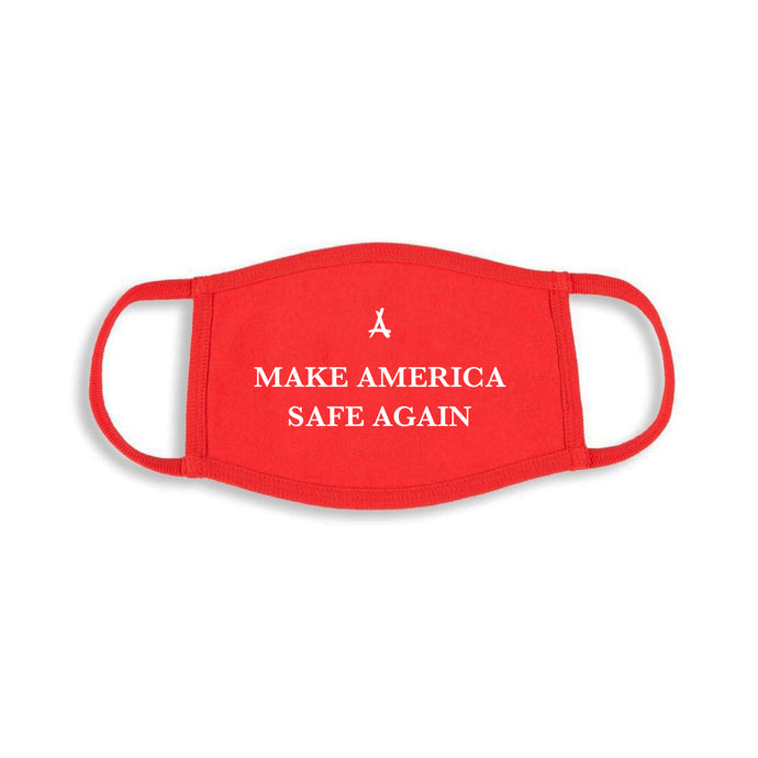 MAKE AMERICA SAFE AGAIN MASK