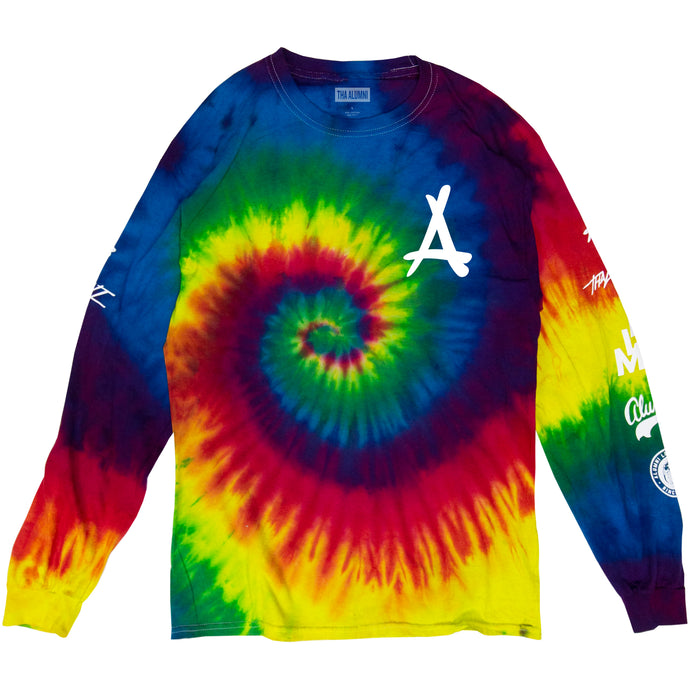 TIE DYE LONG SLEEVE TEE (OG)