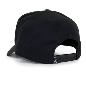 "OLD ENGLISH ""A"" SNAPBACK (BLACK)"