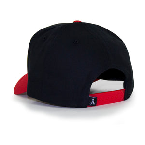 "OLD ENGLISH ""A"" SNAPBACK (BRED)"