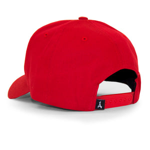 "OLD ENGLISH ""A"" SNAPBACK (RED)"