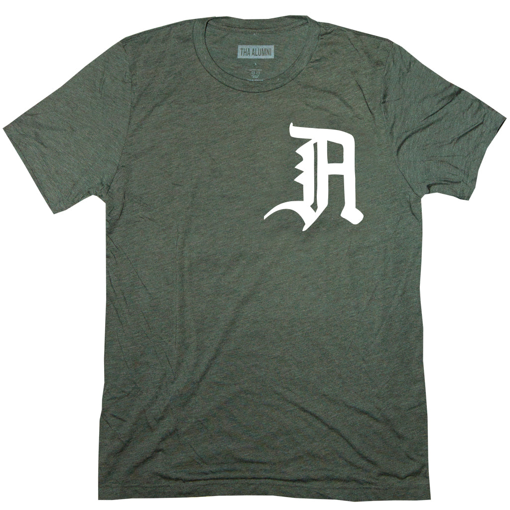 OLD ENGLISH LOGO TEE (MILITARY GREEN)