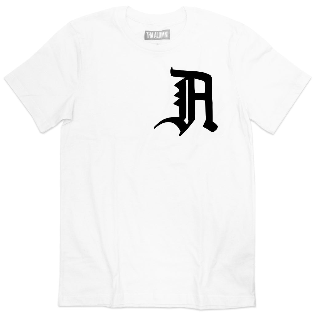 OLD ENGLISH LOGO TEE (WHITE)