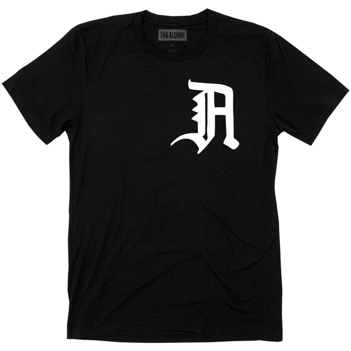 OLD ENGLISH LOGO TEE (BLACK)