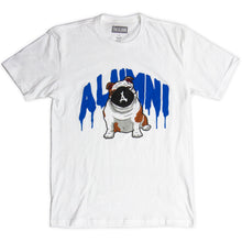 Load image into Gallery viewer, OLLIE DRIP TEE (WHITE + BLUE)