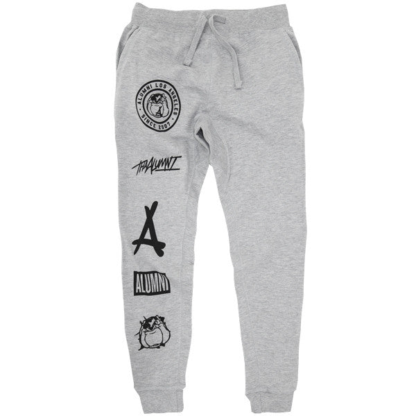 PLAYOFF JOGGERS (HEATHER GREY)
