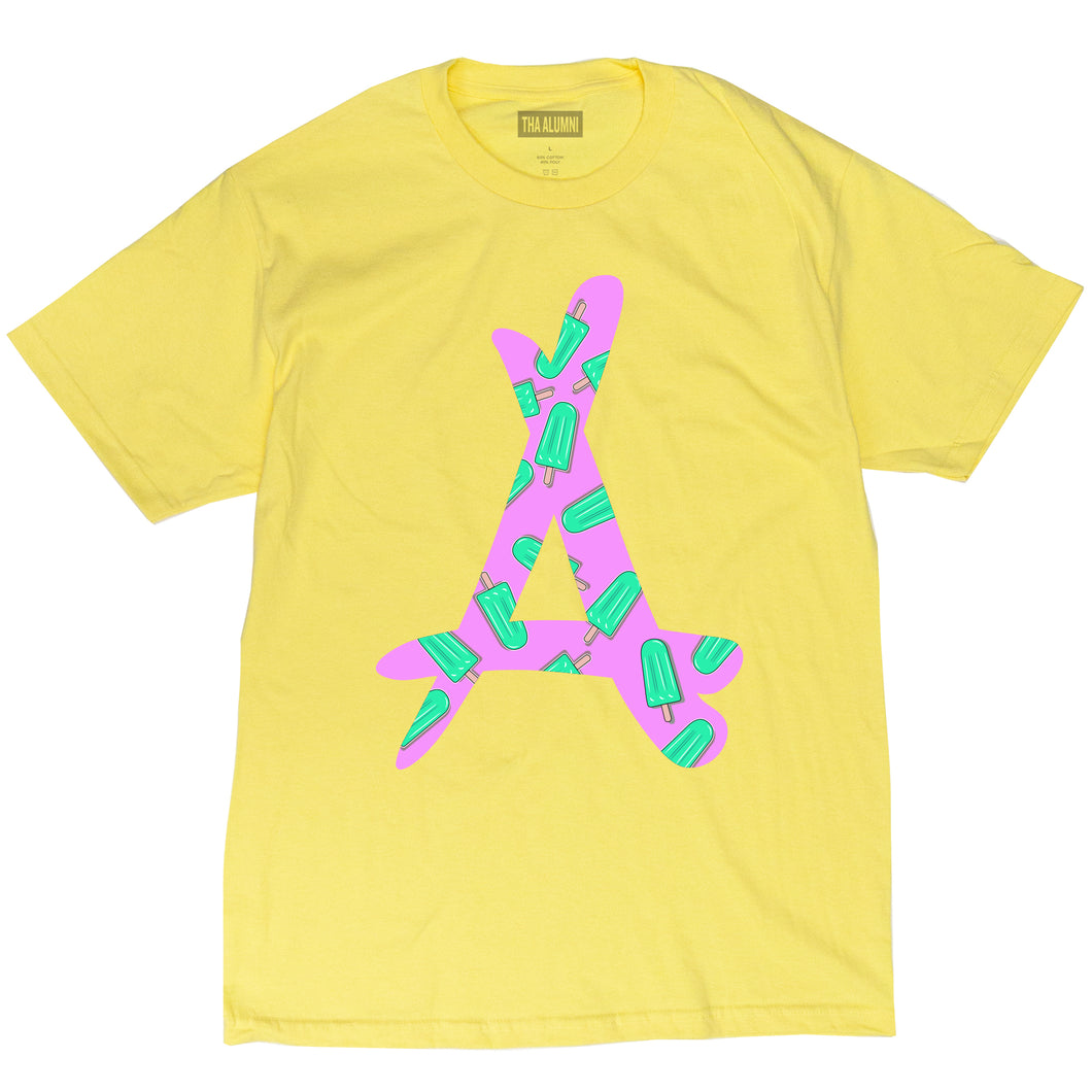 POPSICLE SKATER TEE (YELLOW)