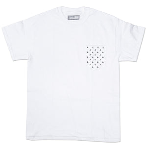 HEAVY LOGO POCKET TEE (WHITE)
