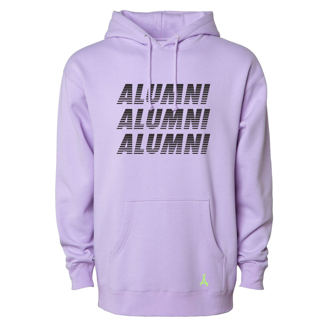 TRIPLE RUNNER HOODIE (PURPLE)