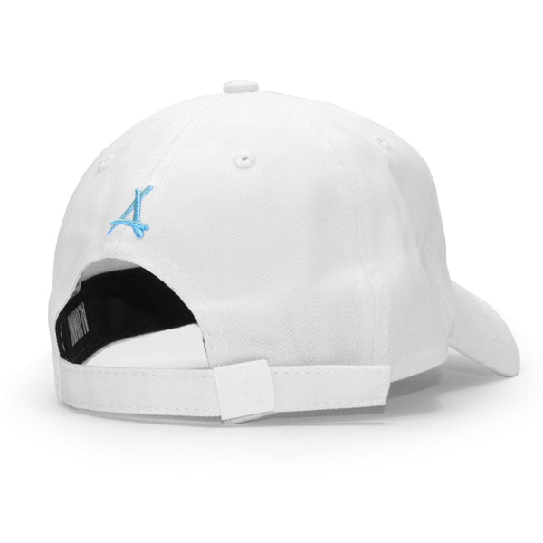 SIGNATURE DAD HAT (WHITE + TIFFANY)