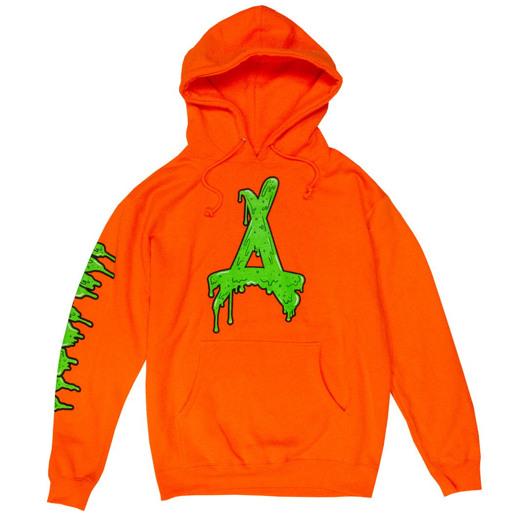 THE PREMIUM SLIME HOODIE (SAFETY ORANGE)