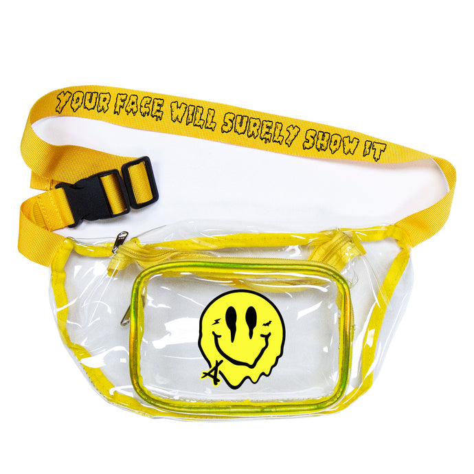 SMILEY CLEAR DAD BAG