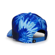 Load image into Gallery viewer, TIE DYE SNAPBACK (OCEAN BLUE)