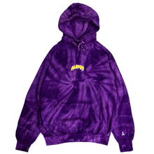 Load image into Gallery viewer, TIE DYE SLIME HOODIE (SHOWTIME)