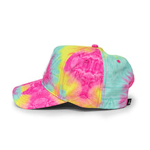 Load image into Gallery viewer, TIE DYE SNAPBACK (PINK)
