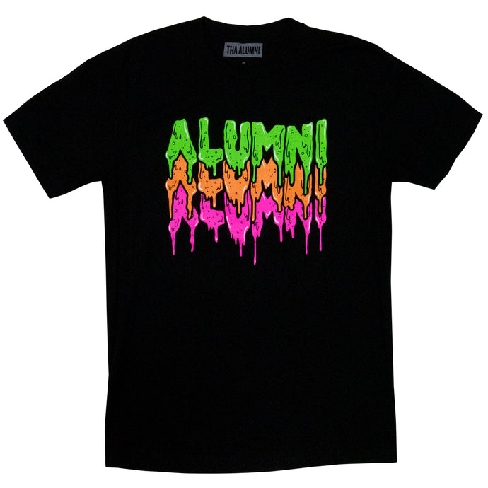 TRIPLE SLIME TEE (BLACK)