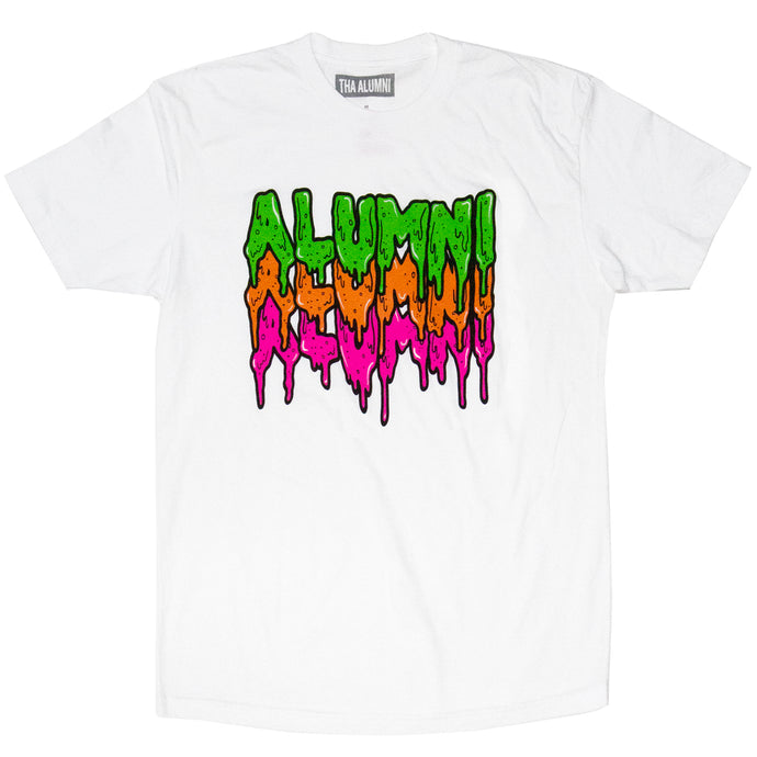 TRIPLE SLIME TEE (WHITE)