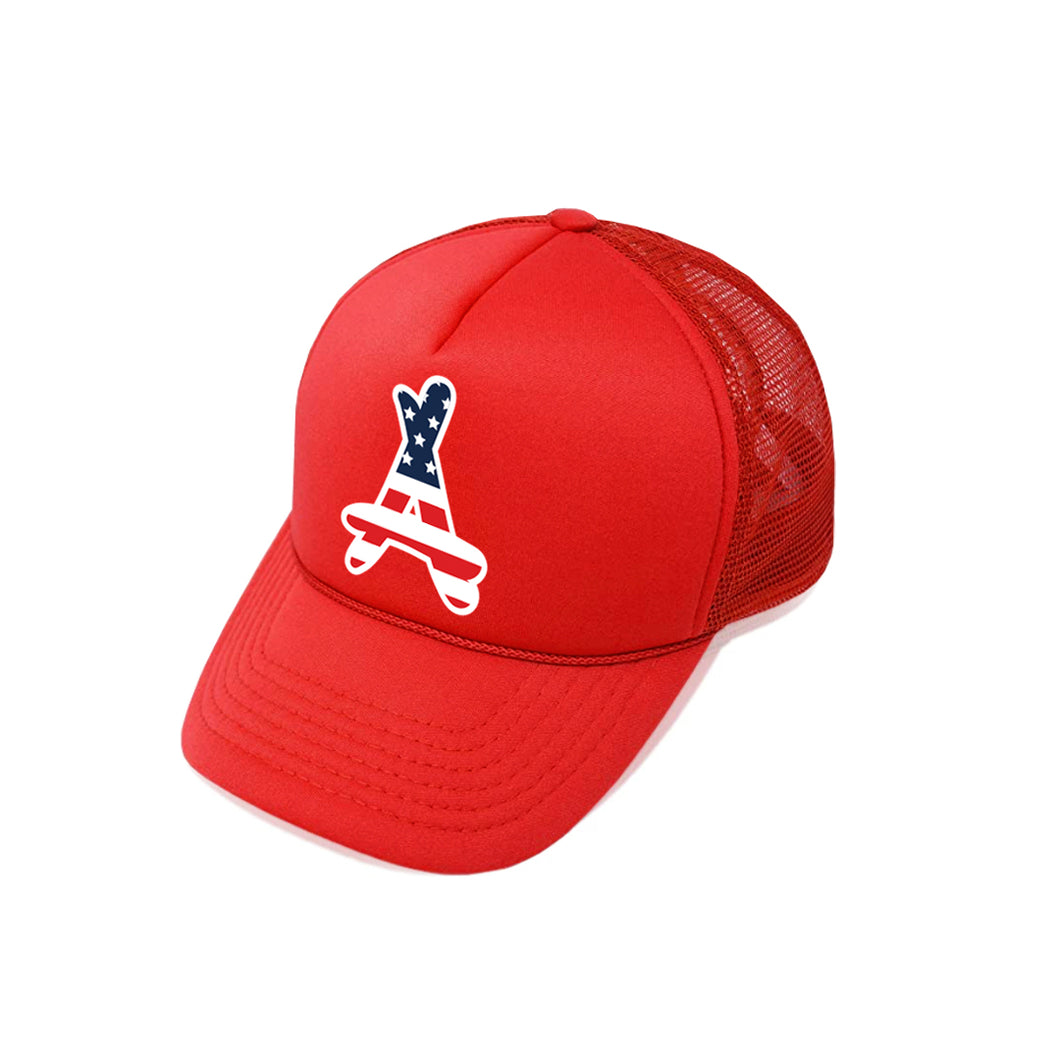 USA FOAM TRUCKER (RED)