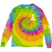 Load image into Gallery viewer, TIE DYE LONG SLEEVE TEE (PINK)