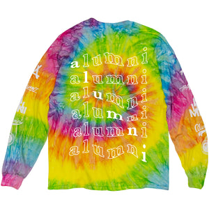 TIE DYE LONG SLEEVE TEE (PINK)