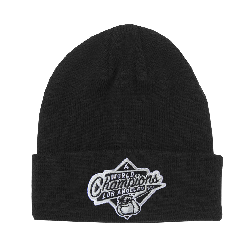 2017 WORLD CHAMPS BEANIE (BLACK)
