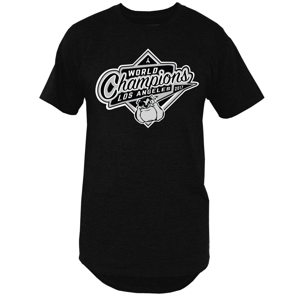 2017 WORLD CHAMP EXTENDED TEE (BLACK)