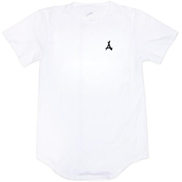 BASIC SCOOP TEE (WHITE)