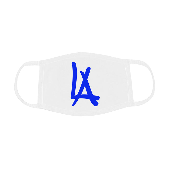 LA MASK (WHITE + BLUE)