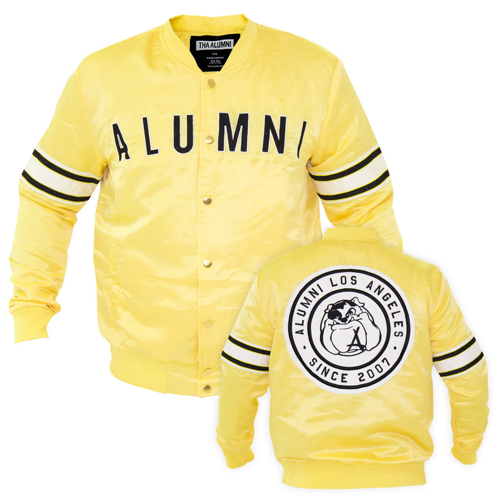 TEAM BASEBALL JACKET (YELLOW)