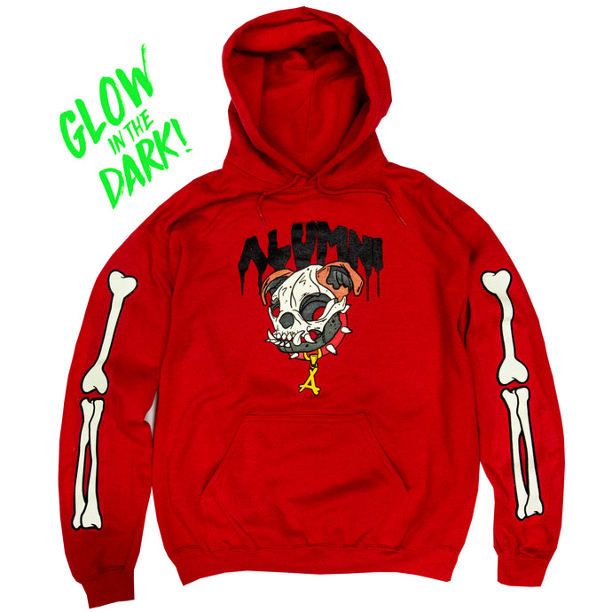 UNDEAD MASCOT HOODIE (RED)