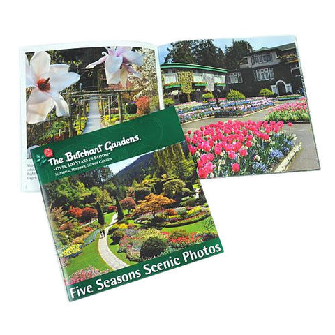 BUTCHART GARDENS FIVE SEASONS BOOK
