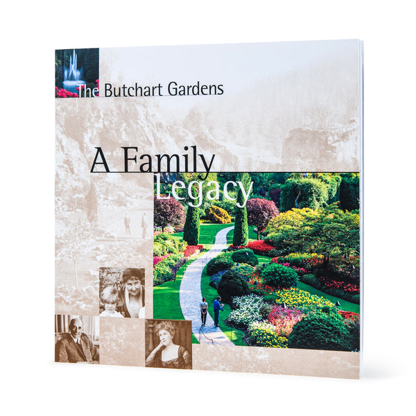 BUTCHART GARDENS LEGACY SOFT COVER BOOK