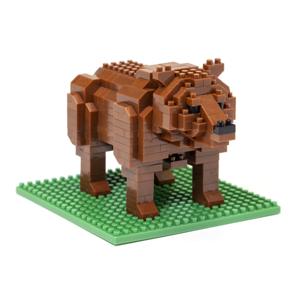 BLOCK SET GRIZZLY BEAR