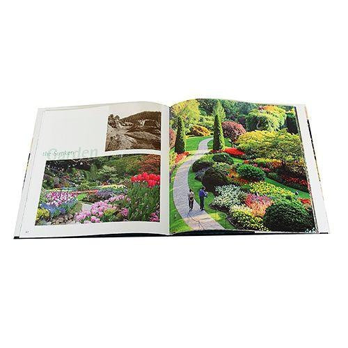 BUTCHART GARDENS LEGACY HARDCOVER BOOK