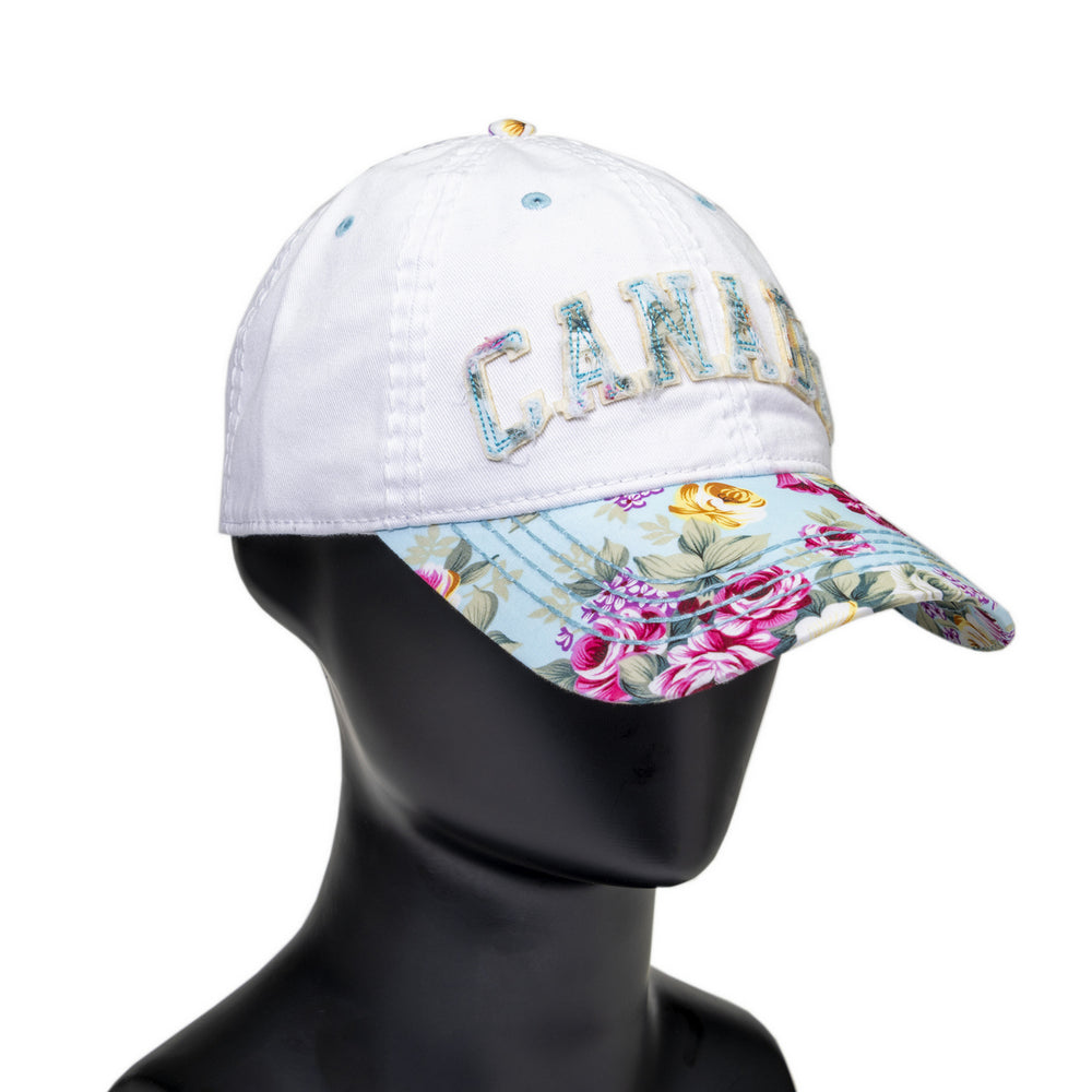 CANADA EMBROIDERED BALL CAP