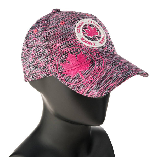 CANADA HEATHER PINK BALL CAP