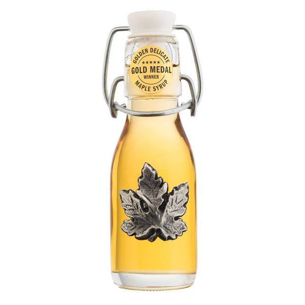MAPLE SYRUP GLASS PEWTER