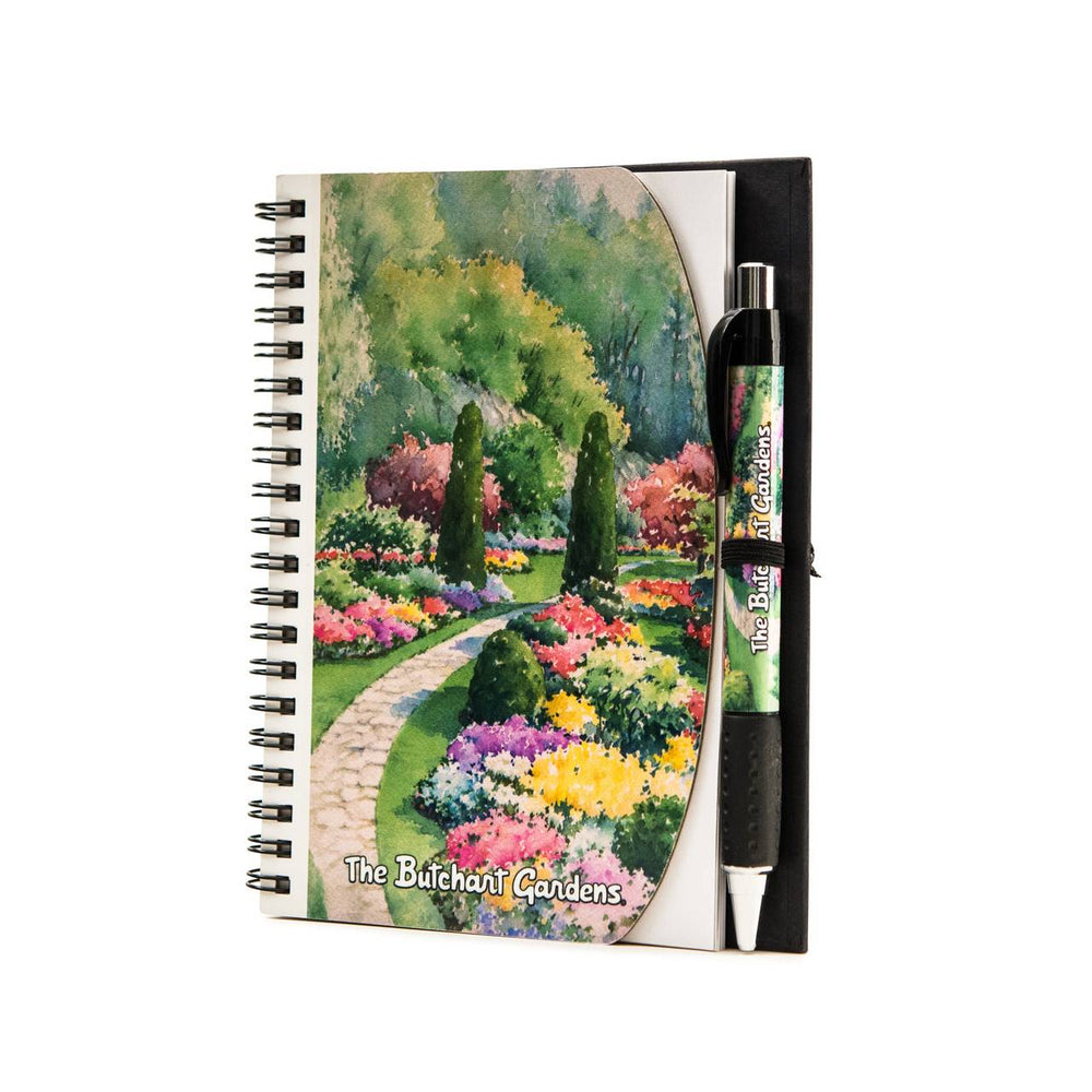 BUTCHART GARDENS NOTEBOOK & PEN SET
