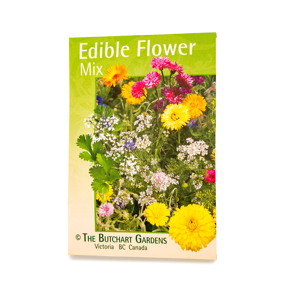 Seed Mix Edible Flower The Butchart Gardens Seed Gift Store
