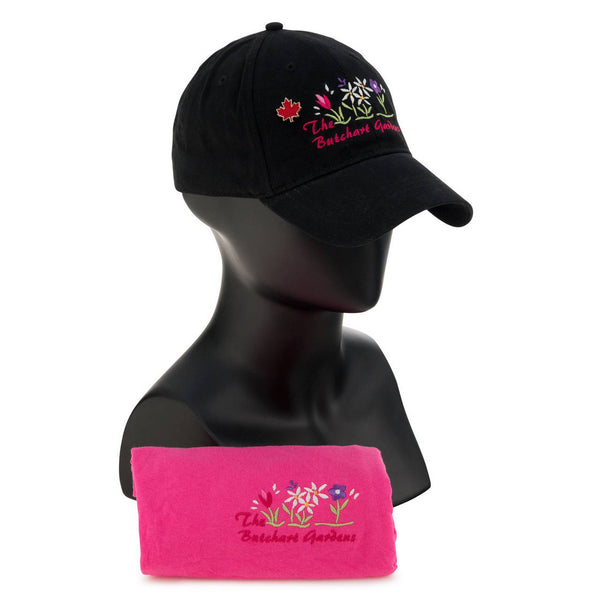 LADIES T SHIRT & BALL CAP COMBO