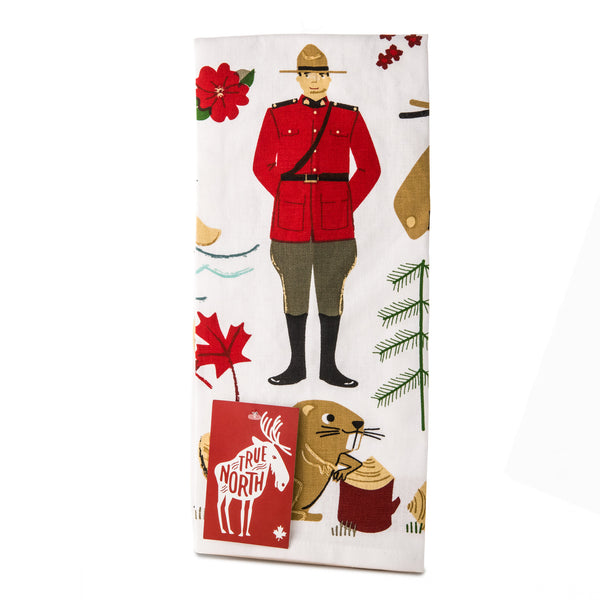TEA TOWEL MOUNTIE CANADA