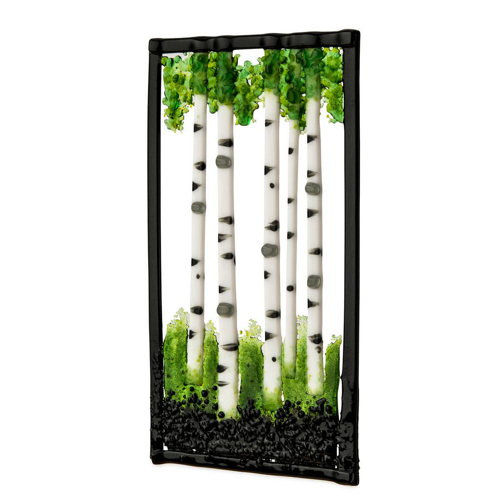 WINDOW HANGING BIRCH TREE