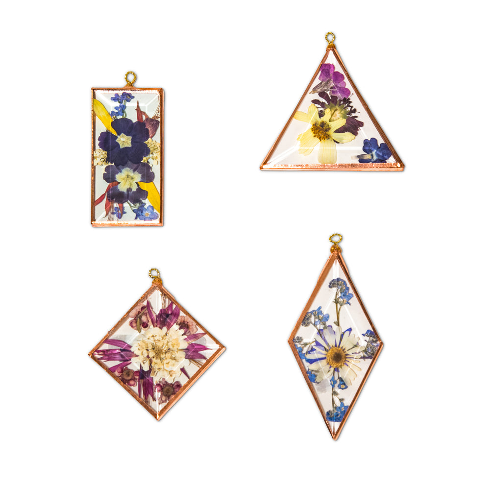 FLORAL WINDOW HANGING SMALL