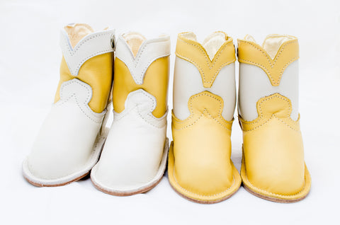 Baby Chick Yellow Basic Boots for that Happy Little Baby