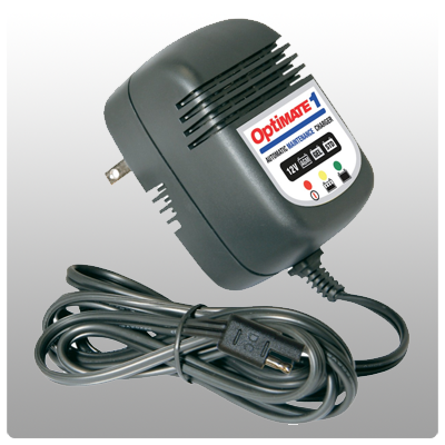 Optimate 1 3-Step 900mA Battery Charger/Maintainer