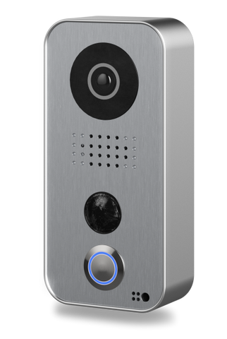 DoorBird Video Door Station D101S, Polycarbonate housing, Strato-Silver Edition