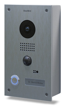 DoorBird Video Door Station D201, Full Stainless-Steel, Surface Edition
